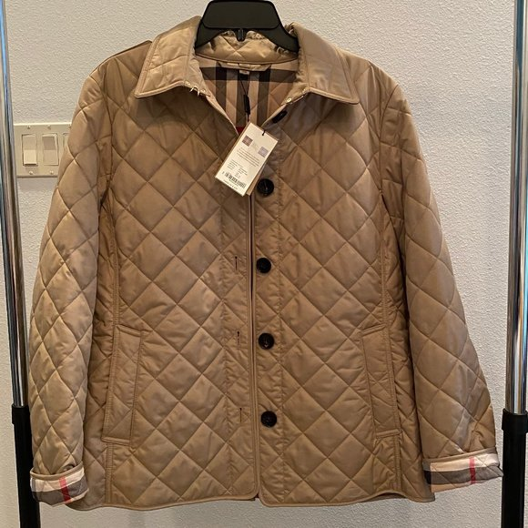 Burberry Women's Quilted Thermoregulated Jacket